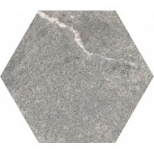 Плитка шестигранная  Cardostone Grey Decor Matt Non-Rec  21x24 VITRA