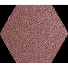 Промышленная кислотоупорная плитка шестигранник Zahna Fliesen Hexagon Oxidrot uni 304, 100/115/18 (Германия)