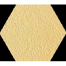 Промышленная кислотоупорная плитка шестигранник Zahna Fliesen Hexagon Cremegelbmix 94  100/115/18 (Германия)