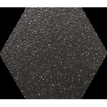 Промышленная кислотоупорная плитка шестигранник Zahna Fliesen Hexagon Schwarzmix 88   100/115/18 (Германия)
