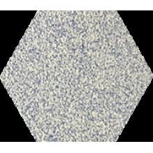 Промышленная кислотоупорная плитка шестигранник Zahna Fliesen Hexagon  Blaumix 14, 100/115/18 (Германия)
