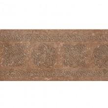 Декор подступенник  Brown 15x33 Stone