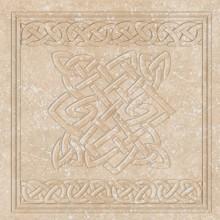 Декор вставка Exagres Cuadro Ocre  Stone 33х33