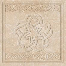 Декор вставка  Exagres Flor Ocre Stone 33х33