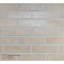 Фасадная клинкерная плитка  Westerwalder Klinker Glazed Crema WK 54  240*71*8