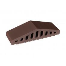 Профильный кирпич King Klinker Коричневый натуральный (03) Natural brown, 310/250x100x78 мм