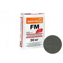 Цветная смесь для заполнения  швов Quick-mix  FM E антрацитово-серый