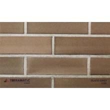 Фасадная клинкерная плитка Terramatic PLATO Grey 8101