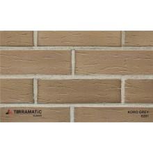 Фасадная клинкерная плитка Terramatic KORO Grey 8201