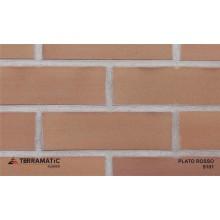 Фасадная клинкерная плитка Terramatic PLATO Rosso 9101