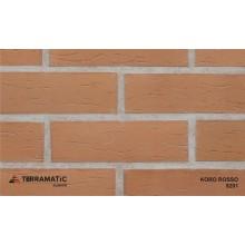 Фасадная клинкерная плитка Terramatic KORO Rosso 9201