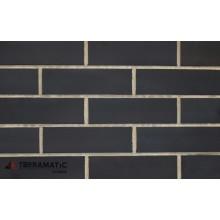Клинкерная фасадная плитка Terramatic AB7103 BLACK plato