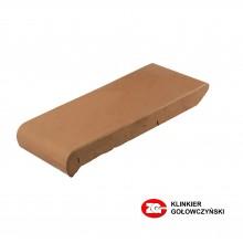 Керамический подоконник, красный (180х110х25 мм.)