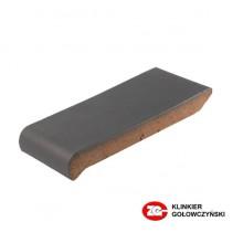 Керамический подоконник ZG-Clinker ОК18 графит  180х110х25 мм.