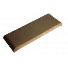 Керамическая парапетная плитка, цвет коричневый КР 20 (190х110х25 мм.)
