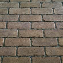 Тротуарный клинкерный кирпич - состаренный Kerawil Keratique Dunkelbraun 200х100х45