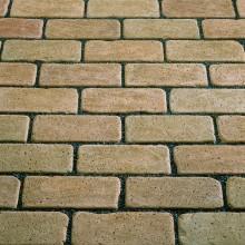 Тротуарный клинкерный кирпич - состаренный Kerawil Keratique Karamel-Ofenbunt 200х100х45