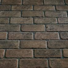Тротуарный клинкерный кирпич - состаренный Kerawil Keratique Dunkelbraun Blau-Bunt 200х100х45