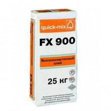 Высокоэластичный клей (С2 ТЕ, S1) Quick-mix FX 900  25кг